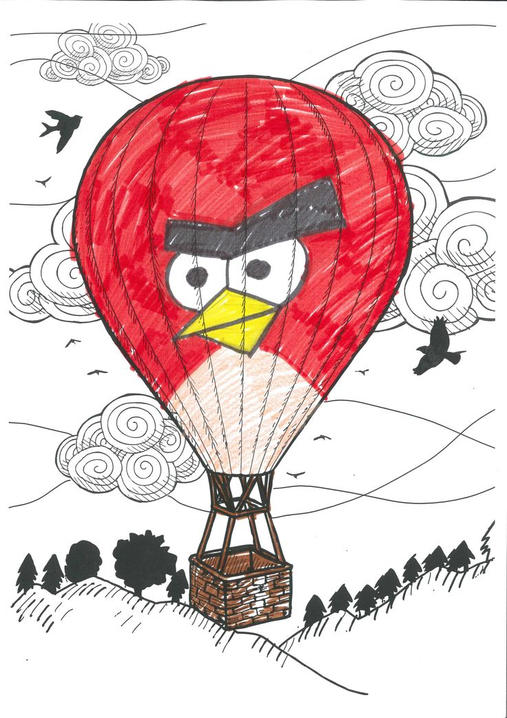 Colar Mix 3d Coloring Book : Colar mix hot air balloon page we are currently developing