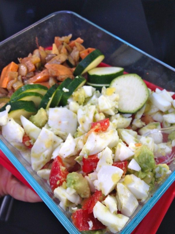 healthy lunch egg salad | Lunch | Pinterest