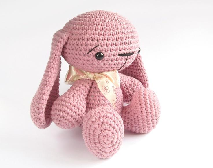 Amigurumi Floppy Ear Bunny : Tiny red devil - Cute crocheted amigurumi devil - Pocket ...