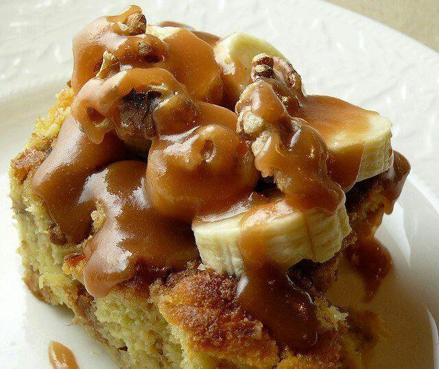 Homemade Banana Bread Pudding | Breads | Pinterest