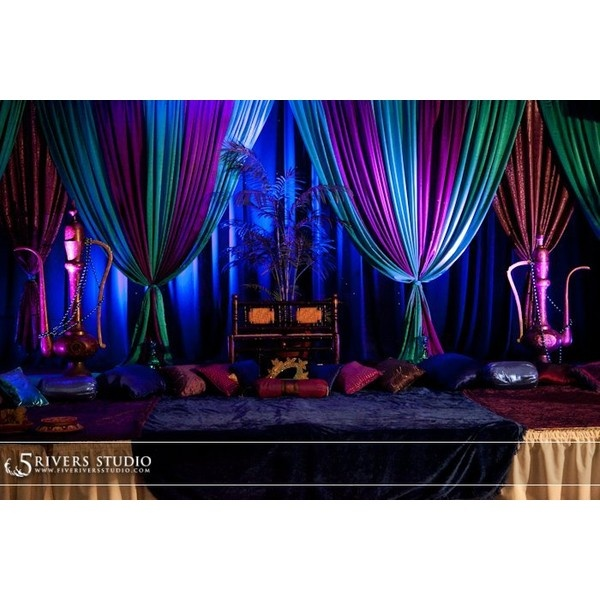 Disney Inspired Wedding 9 Aladdin Arabian Inspired Wedding