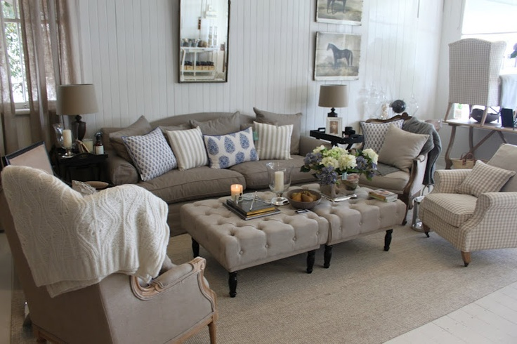 hamptons home living lounge rooms pinterest