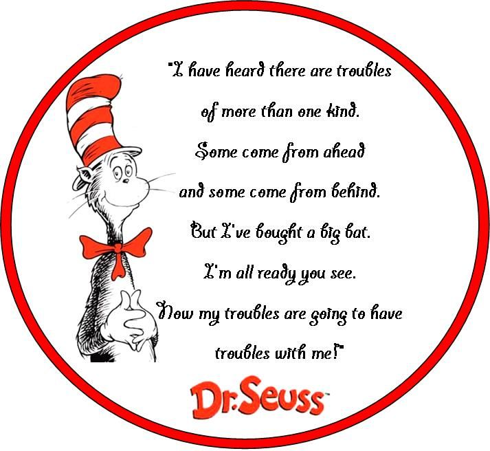 Dr. Seuss | Affirmations and Things to Make You Smile | Pinterest