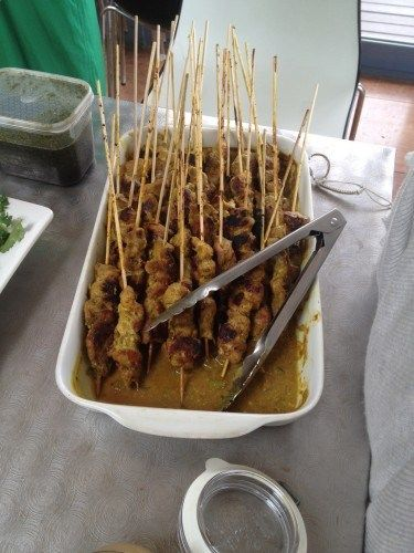 Pork Satay Skewers Recipe — Dishmaps