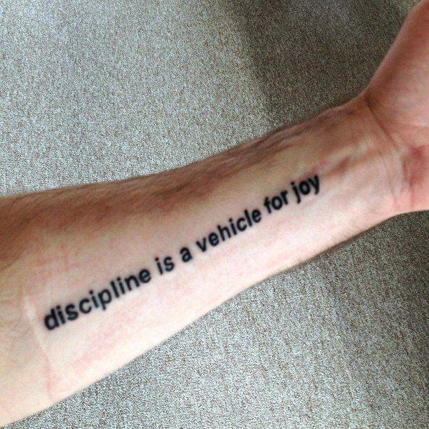forearm text tattoo placement tattoo pinterest