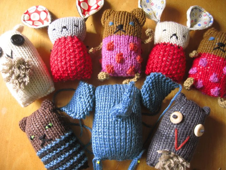 knitted animals crochet & knitting projects Pinterest