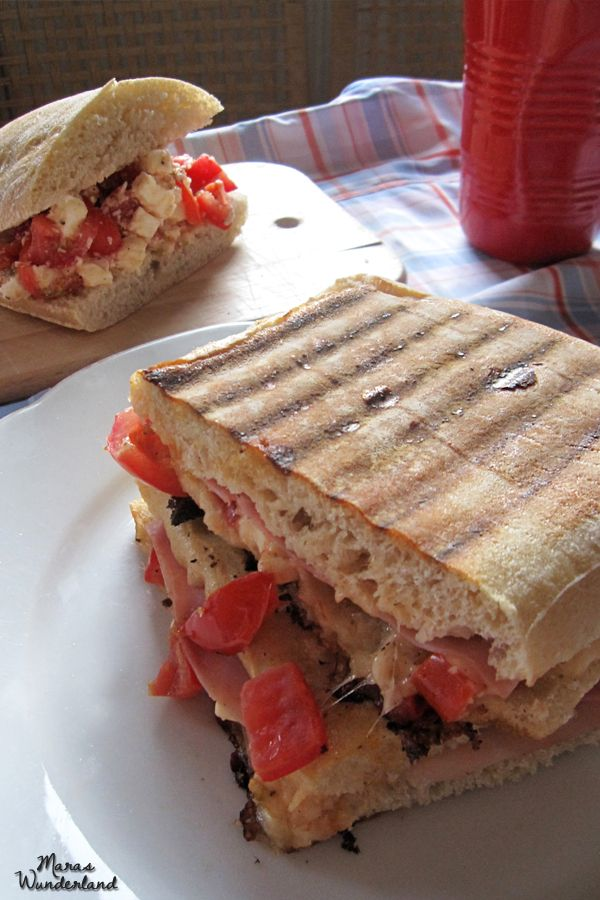 Tomato-Mozzarella-Paninis :o) | In my Kitchen | Pinterest