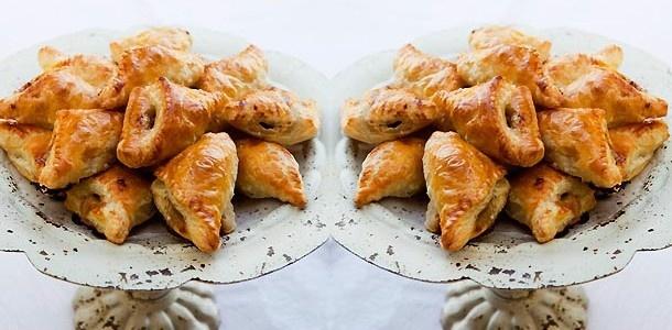 Apple Walnut Gorgonzola Turnovers | kitchen: little bites | Pinterest