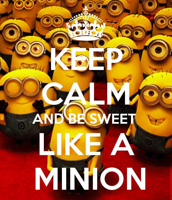 Minion Keep Calm Quotes. QuotesGram