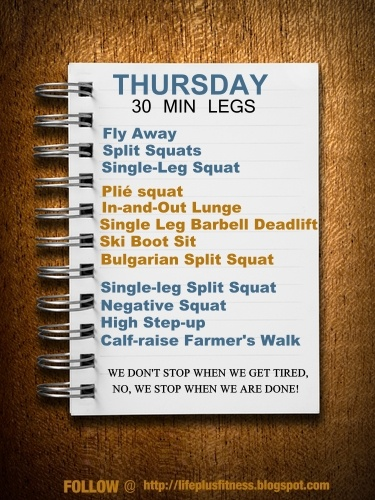 Greatist Workout of the Day: Thursday, May 1st