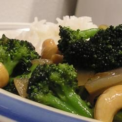 Broccoli with Garlic Butter and Cashews | veggies | Pinterest