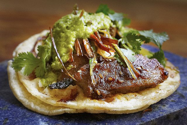 Chile-Braised Pork Shoulder Tacos Recipes — Dishmaps