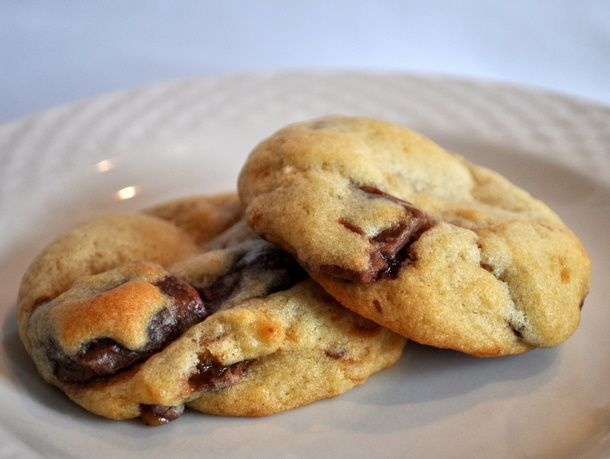 """Toffee Chunk Cookies, adapted from """"Chewy Gooey Crispy Crunchy"""" by ..."""