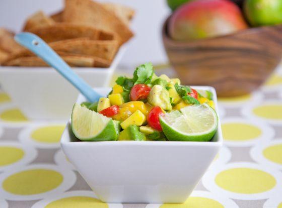 Mango Avocado Salsa   WGG Recipes   Pinterest