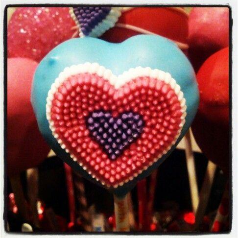 valentine day cake pops delivery