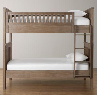 Kenwood Twin Bunk Bed Boys Room