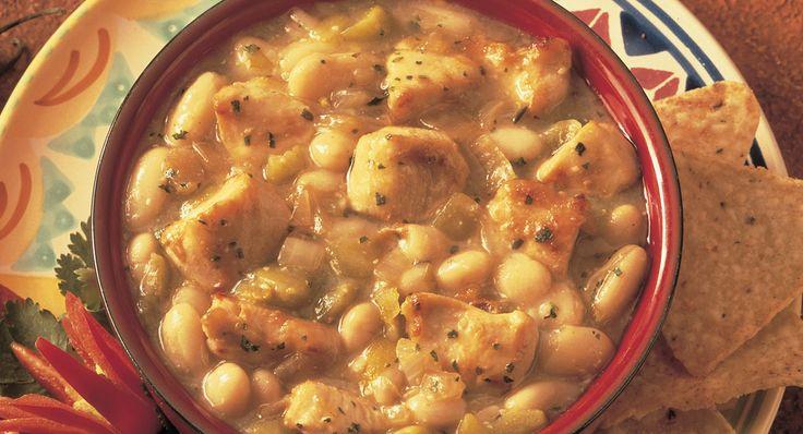Spicy White Bean Chicken Chili | Recipe