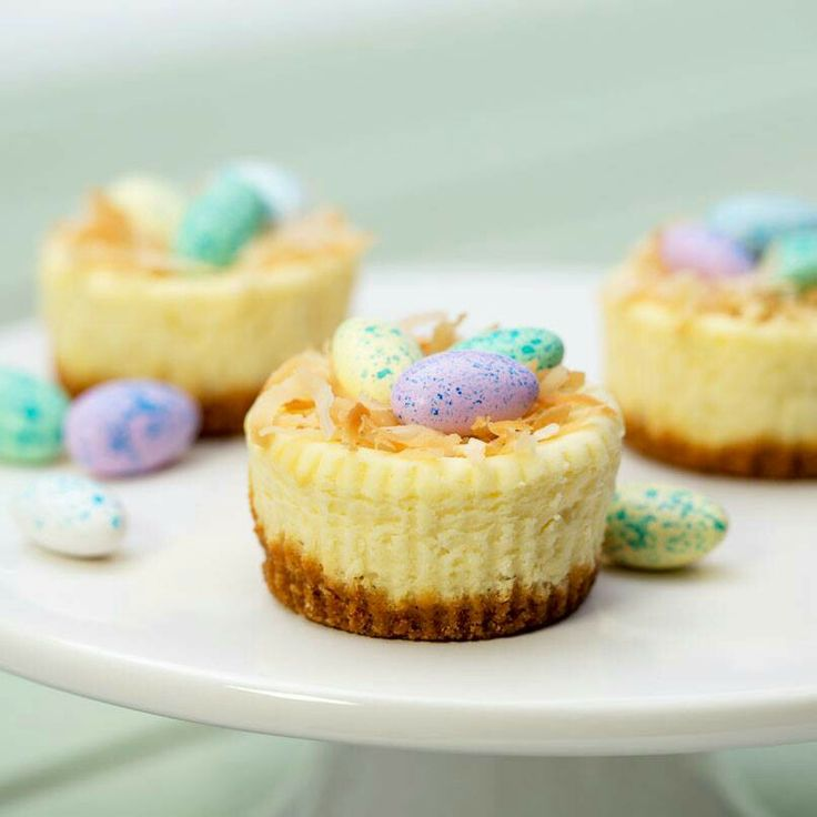 Easter cheesecake bites | food | Pinterest