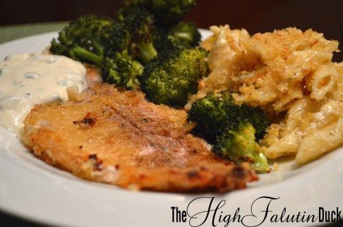 "Oven ""Fried"" Catfish 
