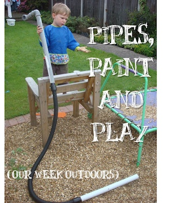 Pipes, paint and play