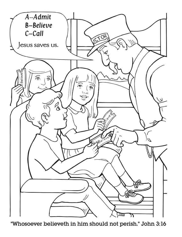 poplar express coloring pages - photo#25