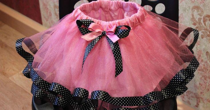 Платье или юбка из фатина своими руками 79
