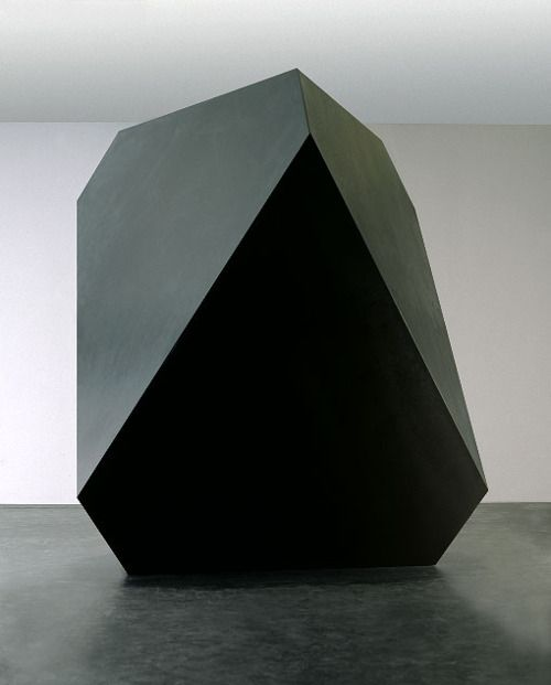 Anti by Carsten Nicolai.    Regular geometric forms represent systematic thinking and the interrelationship between mathematics, optics, art and philosophy.