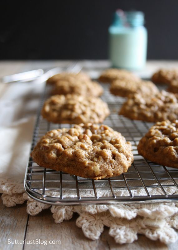 Pumpkin Pecan Oatmeal Cookies | That's the Way the Cookie Crumbles ...
