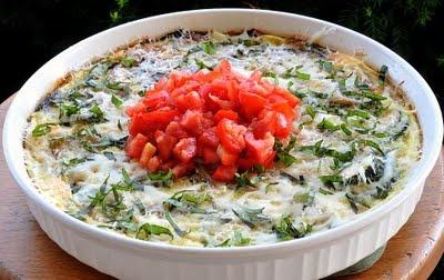 Zucchini Onion Frittata | Eggs | Pinterest