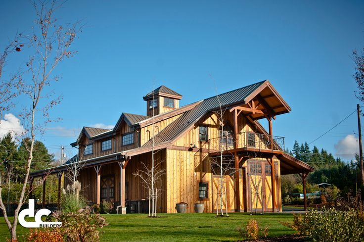 Barn with apartment upstairs house plans pinterest Barn with apartment plans