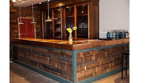 Floor Boards Bar Front Bar Ideas Pinterest