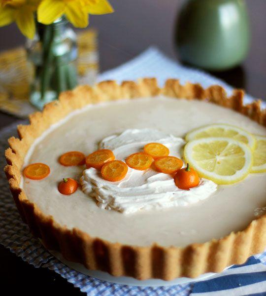 lemon yogurt icebox tart