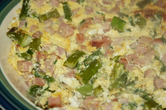 frittata with asparagus potatoes and ham asparagus and ham oven