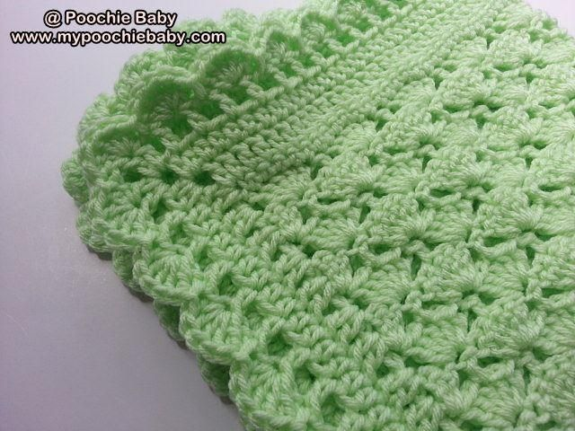 Crochet Patterns One Skein : One Skein Baby Blanket Pattern