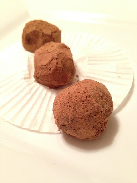 Vegan Chocolate-Hazelnut Truffles | Vegan | Pinterest