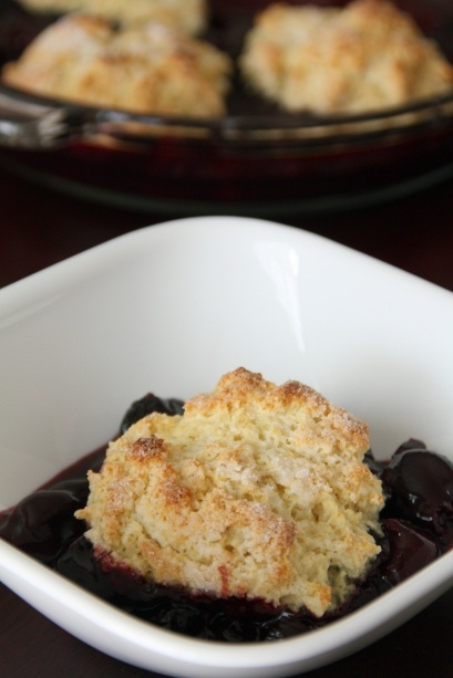 Sweet Cherry Cobbler | Eat and Drink | Pinterest