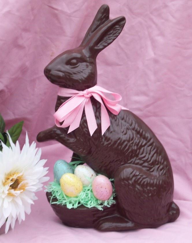 Chocolate Easter Bunny | Hippity Hoppity Easter | Pinterest