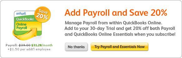 Intuit payroll coupon code