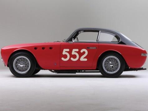 1952 Ferrari 225S Berlinetta Vignale.