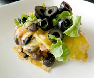 Black Bean Tortilla Casserole | recipes | Pinterest