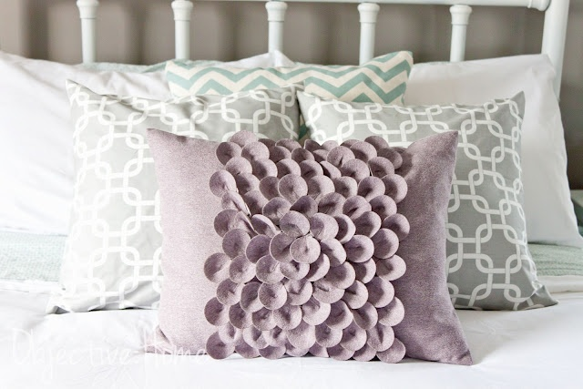 DIY simple pillow cover. Sew or NO Sew! COMPLETED! Pinterest