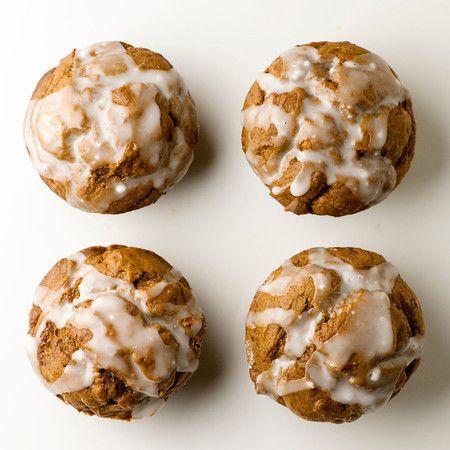 Glazed Gingerbread Muffins - Framed Cooks