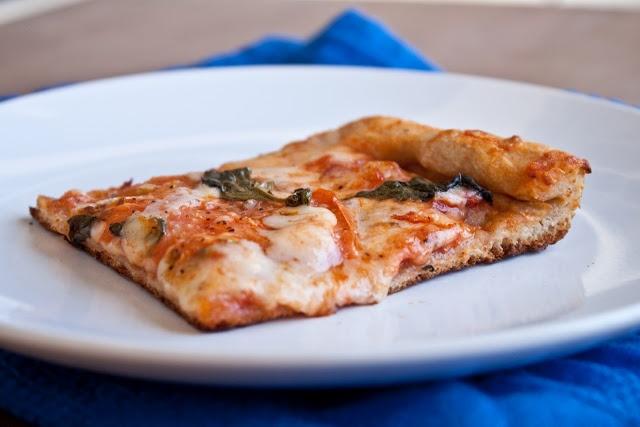 Tomato basil pizza   recipes   Pinterest