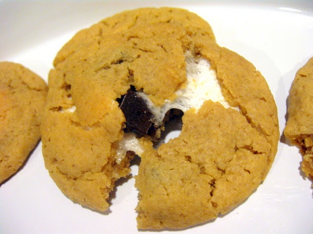 Peanut Butter S'mores Cookies | Recipes-Cookies | Pinterest