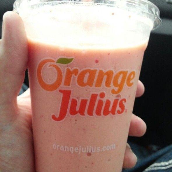 Orange Berry Smoothie @ Dairy Queen | dairy Queen | Pinterest