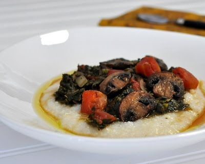 Greens & Grits....can't wait to try this | Weight Watchers | Pinterest