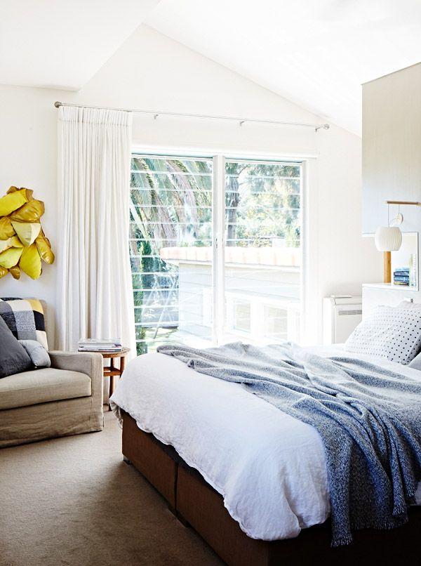 Witte slaapkamer Decorating Ideas