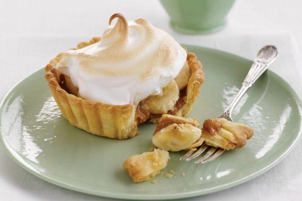 Banana meringue pies | Recipes - Sweets | Pinterest