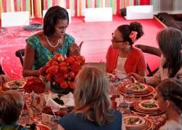 See the funny names for the winning dishes created by kids in the First Lady's contest, like Secret Service Super Salad and Miss Kitty's Egg Salad Sensation
