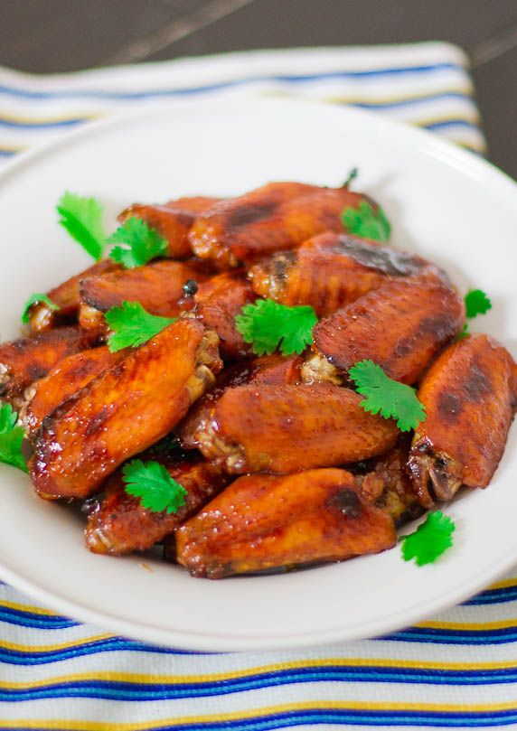 Vietnamese Style Chicken Wings - baked chicken wings are marinated in ...